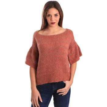 tekstylia Damskie Swetry Gaudi 821FD53043 Czerwony