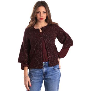 tekstylia Damskie Swetry rozpinane / Kardigany Gaudi 821FD53044 Czerwony