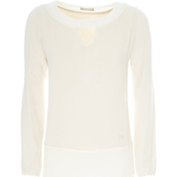 tekstylia Damskie Swetry NeroGiardini A862370D Biały