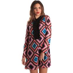 tekstylia Damskie Sukienki krótkie Denny Rose 821DD10026 Czarny