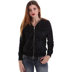 tekstylia Damskie Bluzy Key Up 5CS57 0001 Czarny