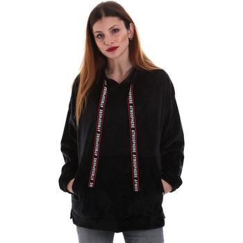 tekstylia Damskie Bluzy Key Up 5CS91 0001 Czarny