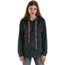tekstylia Damskie Bluzy Key Up 5CS91 0001 Zielony