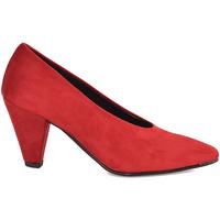 Buty Damskie Czółenka Grace Shoes 2735 Czerwony