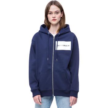 tekstylia Damskie Bluzy Calvin Klein Jeans J20J207832 Niebieski