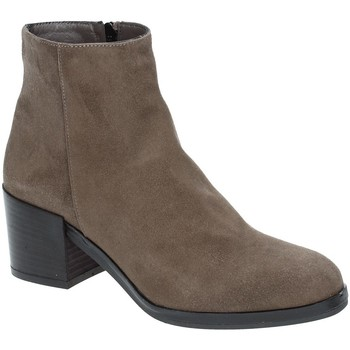 Buty Damskie Botki Grace Shoes 1826 Brązowy