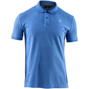 tekstylia Męskie Koszulki polo z krótkim rękawem Lumberjack CM45940 007 516 Niebieski