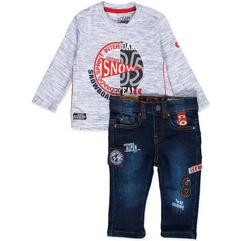 tekstylia Chłopiec Komplet Losan 827-8013AC Niebieski