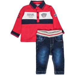 tekstylia Chłopiec Komplet Losan 827-8032AC Czerwony