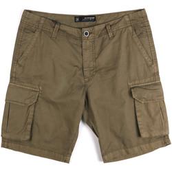 tekstylia Męskie Szorty i Bermudy Key Up 2P16A 0001 Zielony