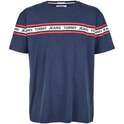 tekstylia Męskie T-shirty z krótkim rękawem Tommy Hilfiger DM0DM05559 Niebieski