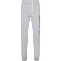 tekstylia Męskie Spodnie dresowe Tommy Hilfiger S20S200071 Szary