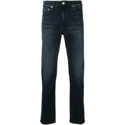 tekstylia Męskie Jeansy slim fit Calvin Klein Jeans J30J311732 Niebieski