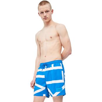 tekstylia Męskie Kostiumy / Szorty kąpielowe Calvin Klein Jeans KM0KM00274 Niebieski