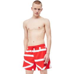 tekstylia Męskie Kostiumy / Szorty kąpielowe Calvin Klein Jeans KM0KM00274 Czerwony