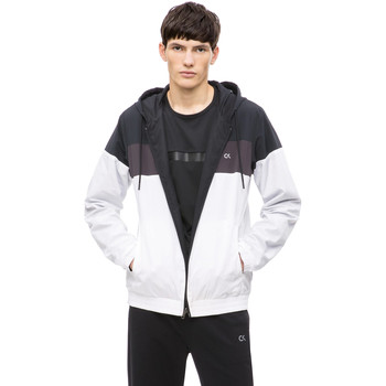 tekstylia Męskie Kurtki krótkie Calvin Klein Jeans 00GMH8O534 Biały
