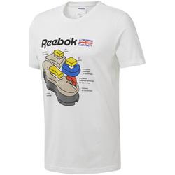 tekstylia Męskie T-shirty z krótkim rękawem Reebok Sport DT8122 Biały