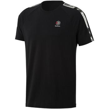 tekstylia Męskie T-shirty z krótkim rękawem Reebok Sport DT8147 Czarny