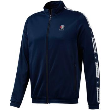 tekstylia Męskie Bluzy dresowe Reebok Sport DT8148 Niebieski