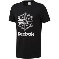 tekstylia Męskie T-shirty z krótkim rękawem Reebok Sport DT8171 Czarny