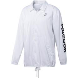 tekstylia Męskie Bluzy dresowe Reebok Sport DT8203 Biały