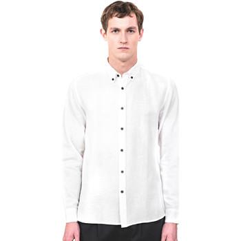 tekstylia Męskie Koszule z długim rękawem Antony Morato MMSL00530 FA400051 Beżowy