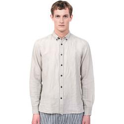 tekstylia Męskie Koszule z długim rękawem Antony Morato MMSL00530 FA400051 Szary