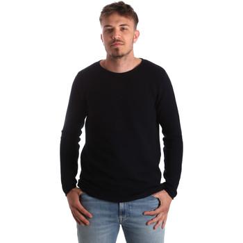 tekstylia Męskie Swetry Antony Morato MMSW00938 YA100018 Niebieski