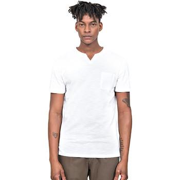 tekstylia Męskie T-shirty z krótkim rękawem Antony Morato MMKS01487 FA100139 Biały
