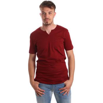 tekstylia Męskie T-shirty z krótkim rękawem Antony Morato MMKS01487 FA100139 Czerwony