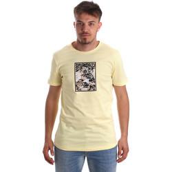 tekstylia Męskie T-shirty z krótkim rękawem Antony Morato MMKS01551 FA100144 Żółty