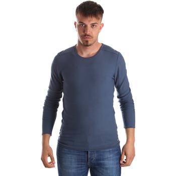 tekstylia Męskie Swetry Gaudi 911FU53013 Niebieski
