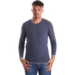 tekstylia Męskie Swetry Gaudi 911FU53018 Niebieski