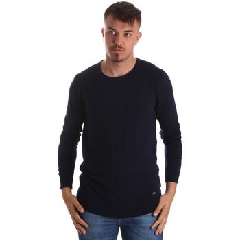 tekstylia Męskie Swetry Gaudi 911BU53010 Niebieski