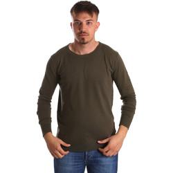 tekstylia Męskie Swetry Gaudi 911BU53010 Zielony