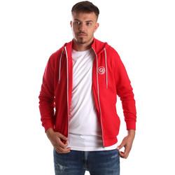 tekstylia Męskie Bluzy Gaudi 911BU64043 Czerwony