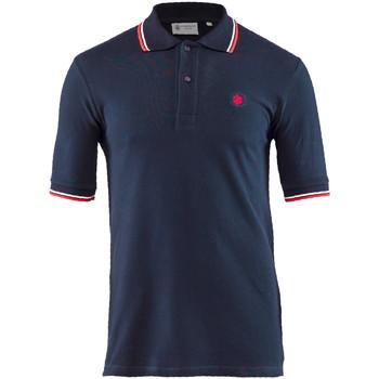 tekstylia Męskie Koszulki polo z krótkim rękawem Lumberjack CM45940 004 506 Niebieski