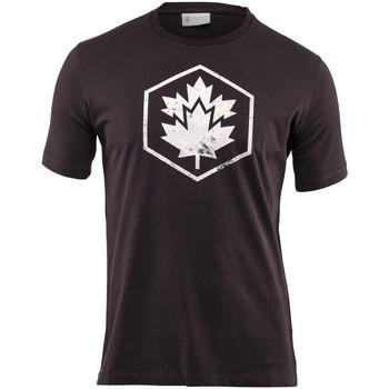 tekstylia Męskie T-shirty z krótkim rękawem Lumberjack CM60343 001 509 Czarny