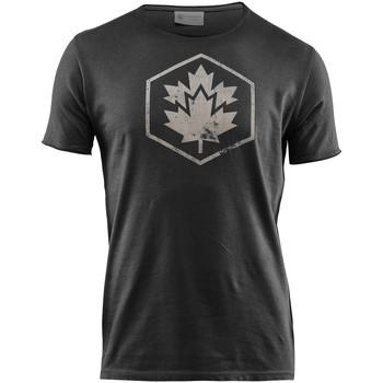 tekstylia Męskie T-shirty z krótkim rękawem Lumberjack CM60343 002 509 Czarny