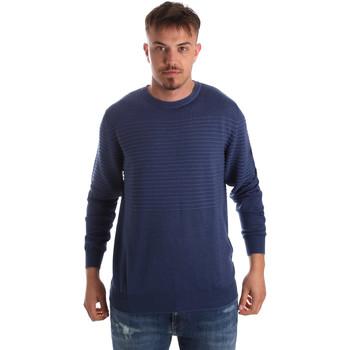 tekstylia Męskie Swetry Navigare NV00196 30 Niebieski