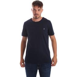tekstylia Męskie T-shirty z krótkim rękawem Navigare NV31069 Niebieski