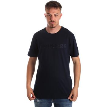 tekstylia Męskie T-shirty z krótkim rękawem Navigare NV31070 Niebieski