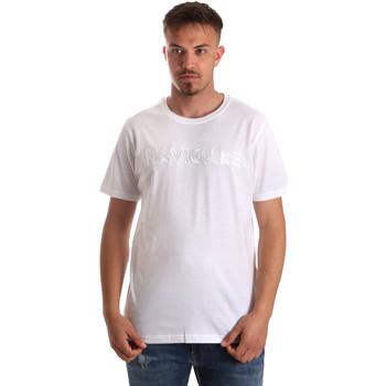tekstylia Męskie T-shirty z krótkim rękawem Navigare NV31070 Biały