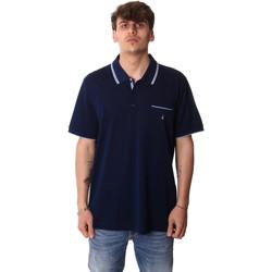 tekstylia Męskie Koszulki polo z krótkim rękawem Navigare NV72045AD Niebieski