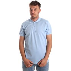 tekstylia Męskie Koszulki polo z krótkim rękawem Navigare NV82001AD Niebieski