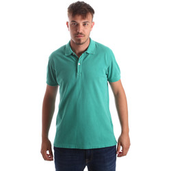 tekstylia Męskie Koszulki polo z krótkim rękawem Navigare NV82086 Zielony