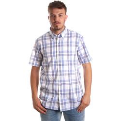 tekstylia Męskie Koszule z krótkim rękawem Navigare NV91057 BD Niebieski
