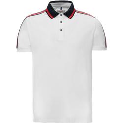 tekstylia Męskie Koszulki polo z krótkim rękawem Invicta 4452206/U Biały