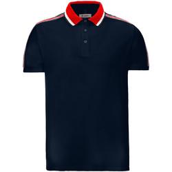 tekstylia Męskie Koszulki polo z krótkim rękawem Invicta 4452206/U Niebieski
