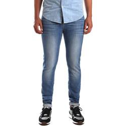 tekstylia Męskie Jeansy slim fit U.S Polo Assn. 51321 51780 Niebieski